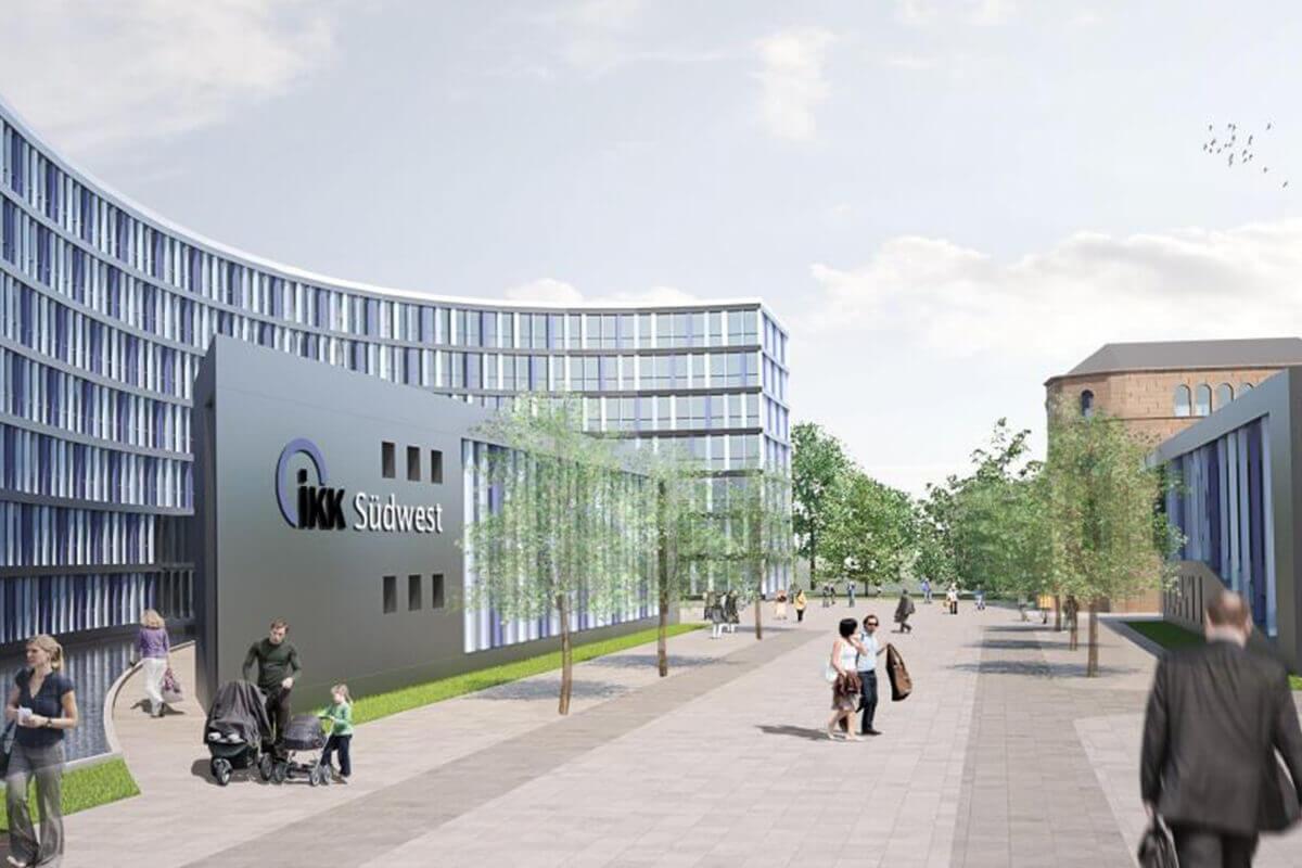 Architekt Saarbrücken verwaltungsgebäude ikk südwest saarbrücken kühn architekten