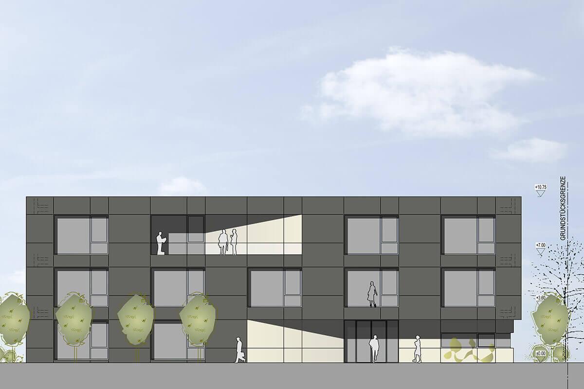 Architekt Saarbrücken neubau bürokomplex saarbrücken kühn architekten